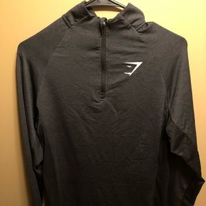 1/4 zip gymshark pullover